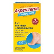 Aspercreme with Lidocaine Foot Pain Creme