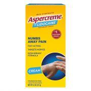 Aspercreme with Lidocaine