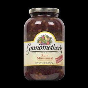 Grandmother's Rum Mincemeat