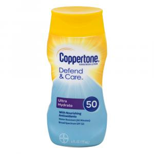 Coppertone Defend & Care Ultra Hydrate Sunscreen Lotion