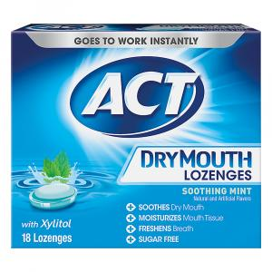 Act Dry Mouth Lozenge with Zylitol