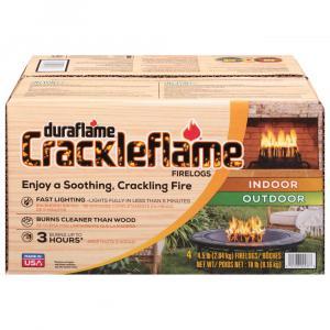 Duraflame Crackleflame Indoor Outdoor Firelogs