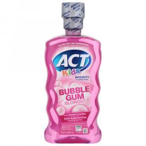 Act Bubble Gum Blowout Anti-Cavity Mouth Rinse