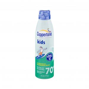 Coppertone Kids Spf 70+ Continuous Clear Spray