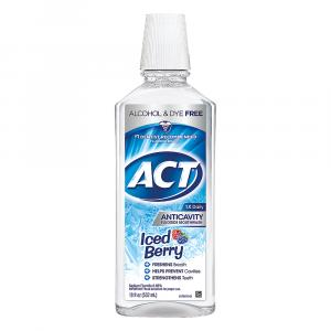 ACT Anticavity Iced Berry Fluoride Mouthwash