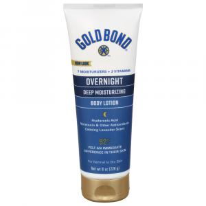 Gold Bond Ultimate Overnight Deep Moisturizing Skin Therapy