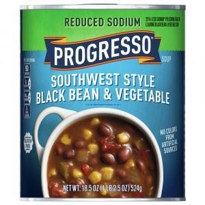 Progresso Reduced Sodium Southwest Black Bean Vegetable Soup