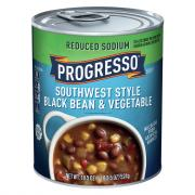 Progresso Reduced Sodium Southwest Black Bean Vegetable Soup