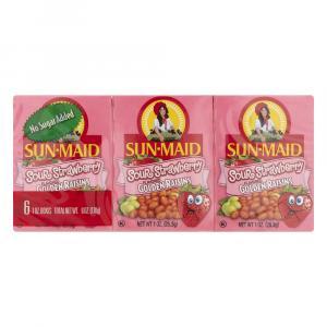 Sun-maid Sour Strawberry Flavored Golden Raisins