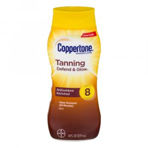 Coppertone Lotion SPF 8
