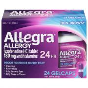 Allegra Allergy 24 Hour Gel Coated Tablets