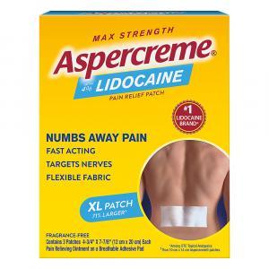 Aspercreme Lidocaine Patch XL