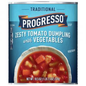 Progresso Traditional Zesty Tomato Dumpling Soup