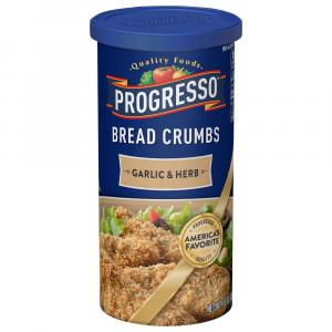 Progresso Garlic & Herb Bread Crumbs