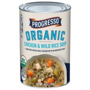Progresso Organic Chicken & Wild Rice Soup