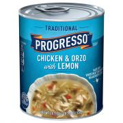 Progresso Traditional Chicken Orzo with Lemon Soup