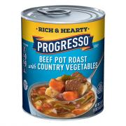 Progresso Rich & Hearty Beef Pot Roast w/Vegetables Soup