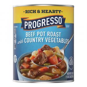 Progresso Rich & Hearty Beef Pot Roast w/Vegetables Soup