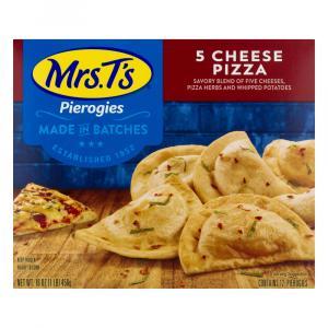 Mrs. T's Pierogies Five Cheese Pizza