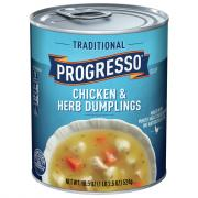Progresso Chicken & Herb Dumpling Soup