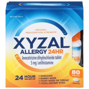 Xyzal Allergy 24 Hour Antihistamine