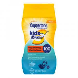 Coppertone Kids Sport Sunscreen Lotion SPF 100