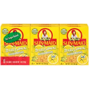Sun-maid Sour Lemon Flavored Golden Raisins