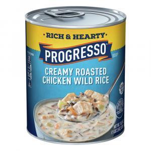 Progresso Rich & Hearty Creamy Chicken Wild Rice Soup