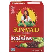 Sunmaid Raisins Box