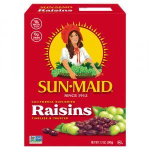 Sun-Maid Raisins Box