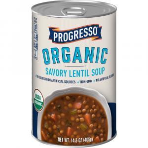 Progresso Organic Savory Lentil Soup