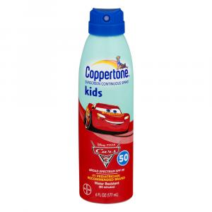 Coppertone Kids Quickcover Continuous Spray Spf 50