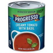 Progresso Reduced Sodium Creamy Tomato Basil Soup