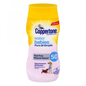 Coppertone Water Babies Pure and Simple Lotion SPF 50