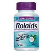 Rolaids Ultra Strength Tablets Mint Flavored