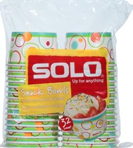 Solo Paper Snack Bowls To Go