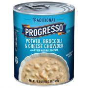 Progresso Traditional Potato Broccoli & Cheese Chowder Soup