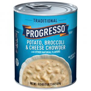 Progresso Traditional Potato Broccoli & Cheese Chowder Soup