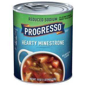 Progresso Reduced Sodium Minestrone Soup
