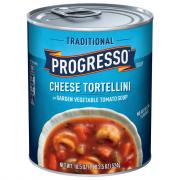 Progresso Traditional Cheesy Tortellini Soup