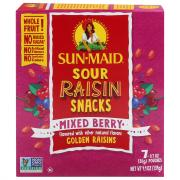 Sunmaid Sour Raisin Mix Berry Snacks