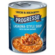 Progresso Rich & Hearty Lasagna Soup with Italian Sausage