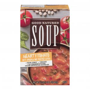 Good Natured Soup Hearty Tomato With Spinach & Garlic