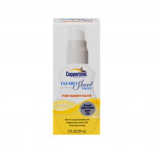 Coppertone Clearly Sheer Spf30 Face Lotion