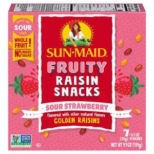 Sun-Maid Sour Raisin Strawberry Snacks