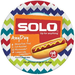 "Solo 8.5"" Any Day Plates"
