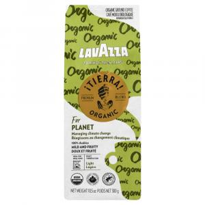 LavAzza Tierra Organic Planet Ground coffee