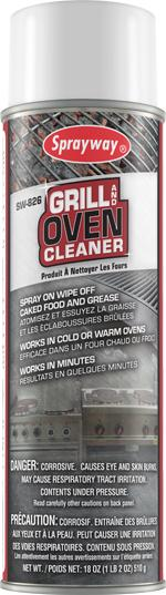 Sprayway Grill & Oven Cleaner