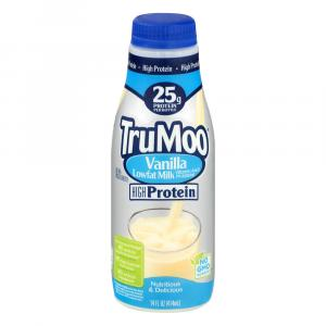 TruMoo Vanilla Shake Protein Lowfat Milk