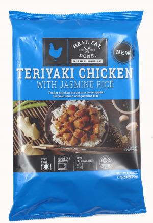 Ruprecht's Heat Eat Done Teriyaki Chickenwith Jasmine Rice